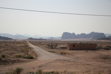 The Wadi Rum Desert
