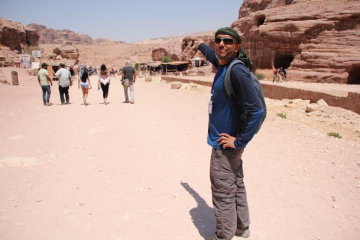 Mahmoud shows the way