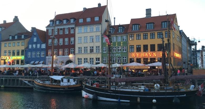 Dannebrog i Nyhavn
