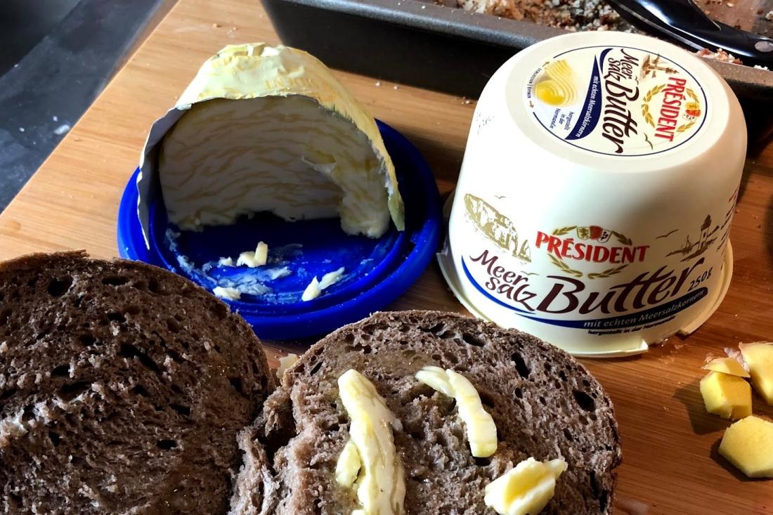Le President Meersalz Butter